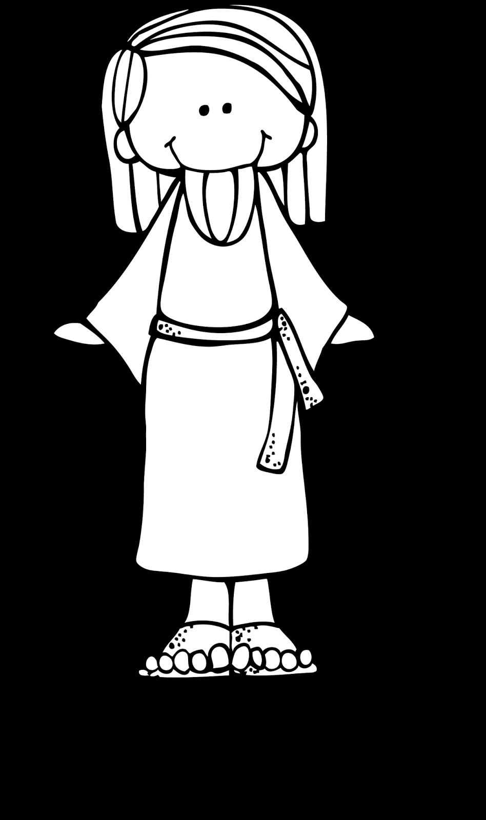 Melonheadz LDS illustrating: Jesus | baptism quilt | Pinterest