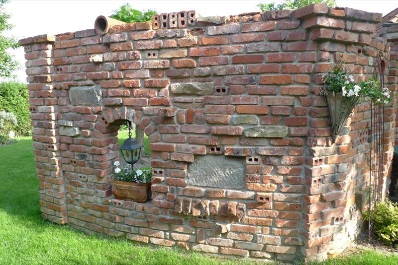 steinmauer garten klinker – performal, Best garten ideen