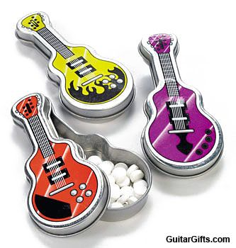 really cool party favor idea for a rock n roll theme party music gifts music gifts guitar. Black Bedroom Furniture Sets. Home Design Ideas