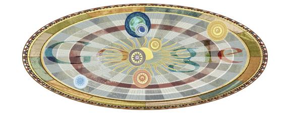 #doodle meravigliosi. 540° anniversario della nascita di Niccolò Copernico.