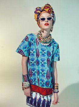 Stella Jean Spring/Summer 2013 Collection