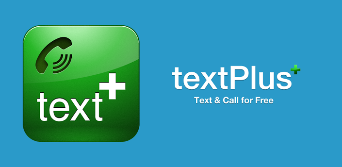 textPlus Free Text + Calls Android app design, Free text