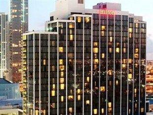 Hilton Miami Downtown Hotel 1601 Biscayne Boulevard Downtown