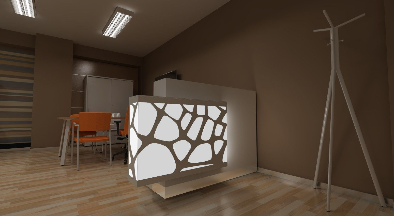 Office interior 3d model rendering created by mari n jur k using new turbocad pro platinum for Interior design 3d rendering software