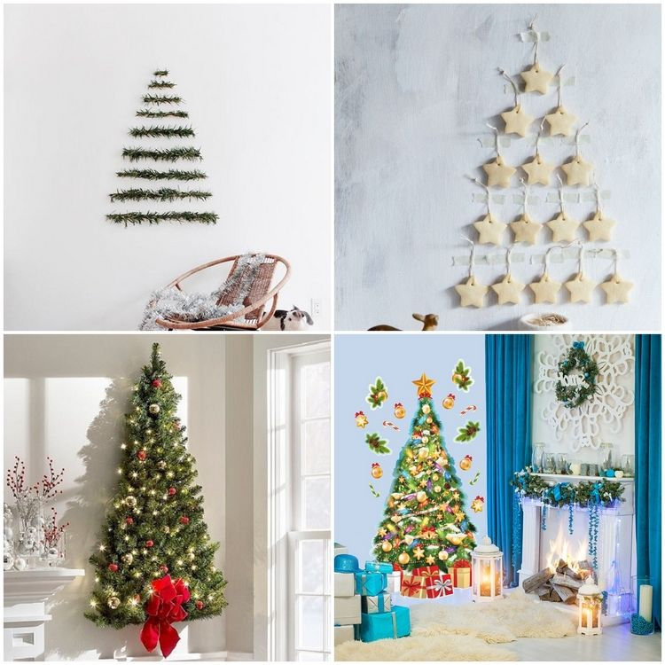 Unique Alternative Christmas Tree Ideas To Challenge Your