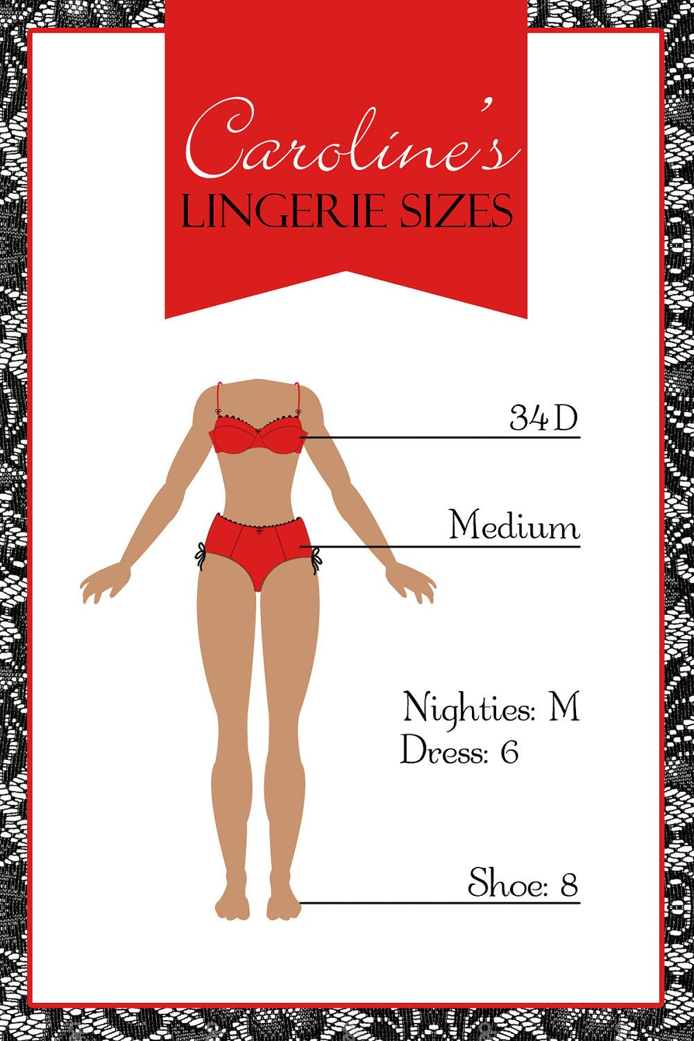 Lingerie Party - Bridal Shower Invitations - Printable. $12.00, via ...