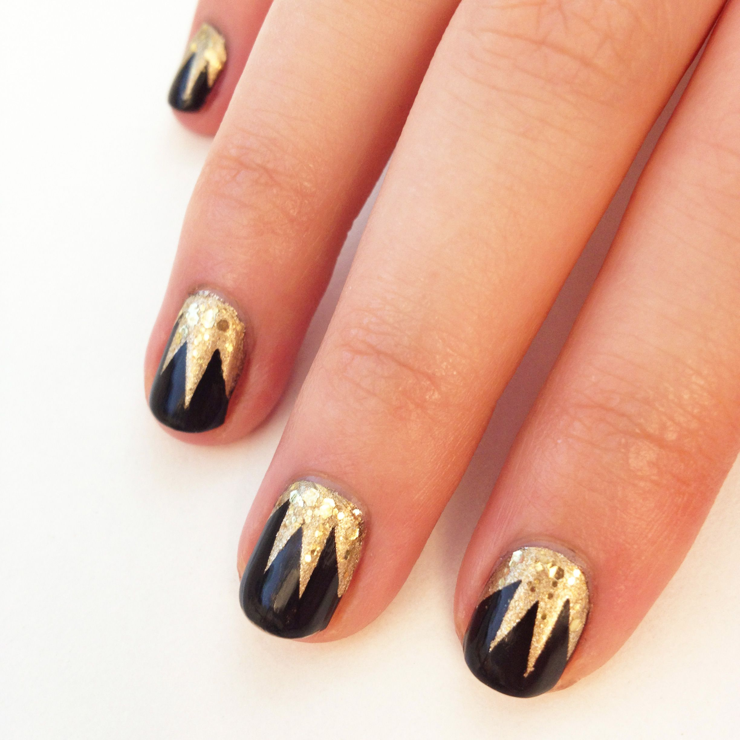 Gorgeous DIY The Great Gatsby Inspired Nails advise