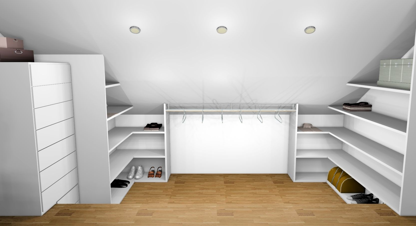 Dressings Ikea Dressing Ikea Sous Pente Dressing Pinterest Attic