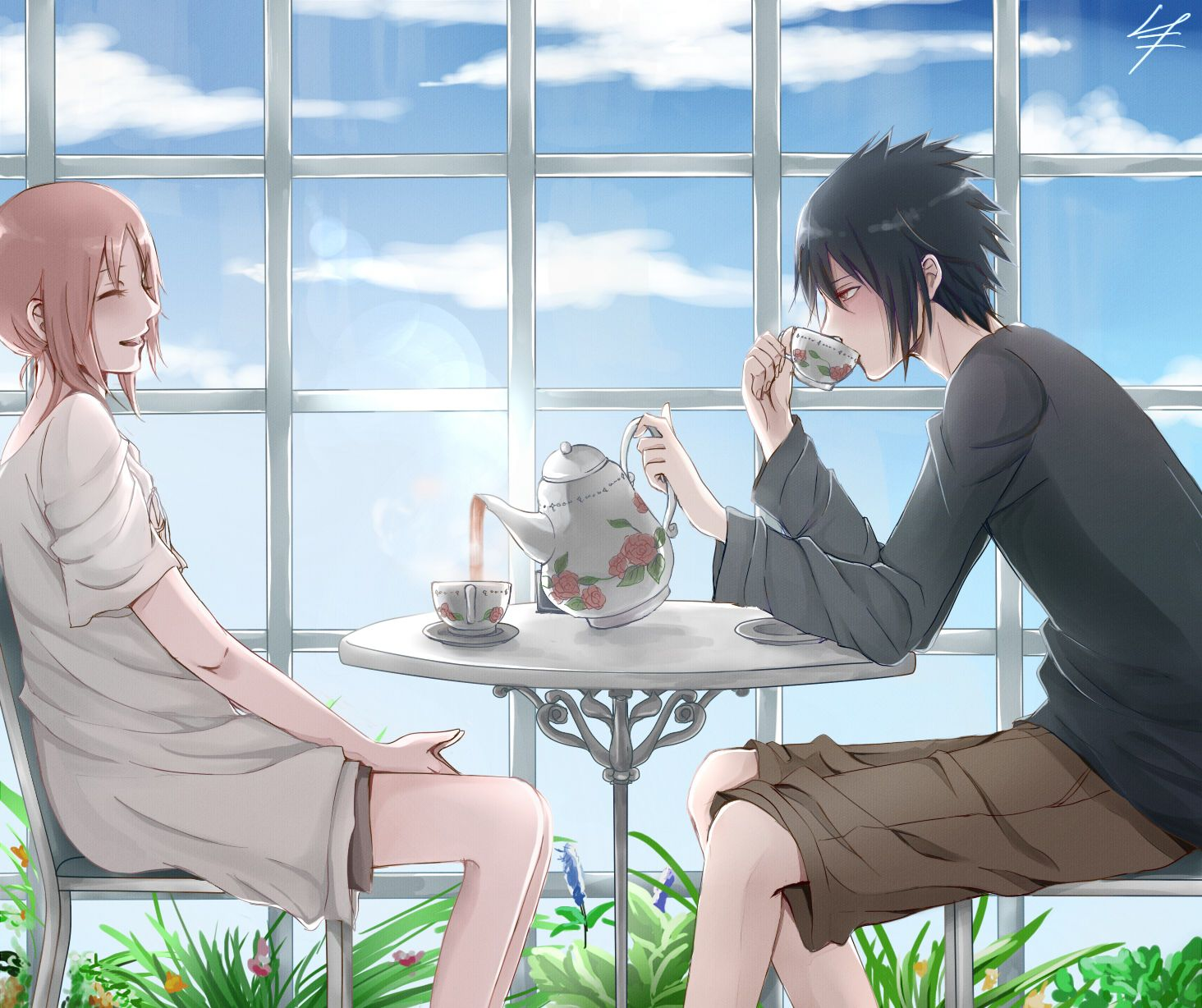 sweet couple sasuke uchiha - photo #48