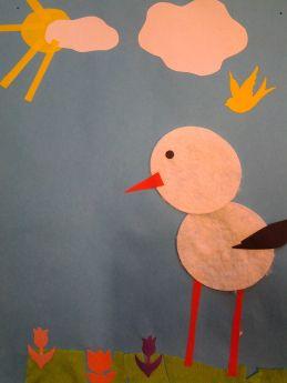 Bociany z płatków kosmetycznych | Kids rugs, Decor, Home decor