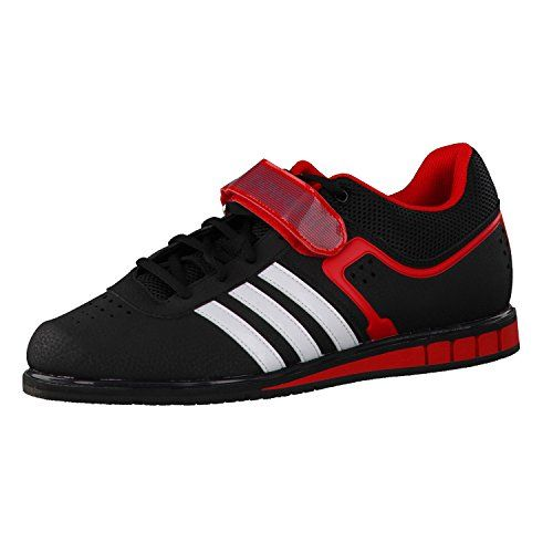 8b78db0dadd4fc ADIDAS Powerlift 2 Adult Weightlifting Shoe BlackWhiteRed   Details can be  found by clicking on the image.