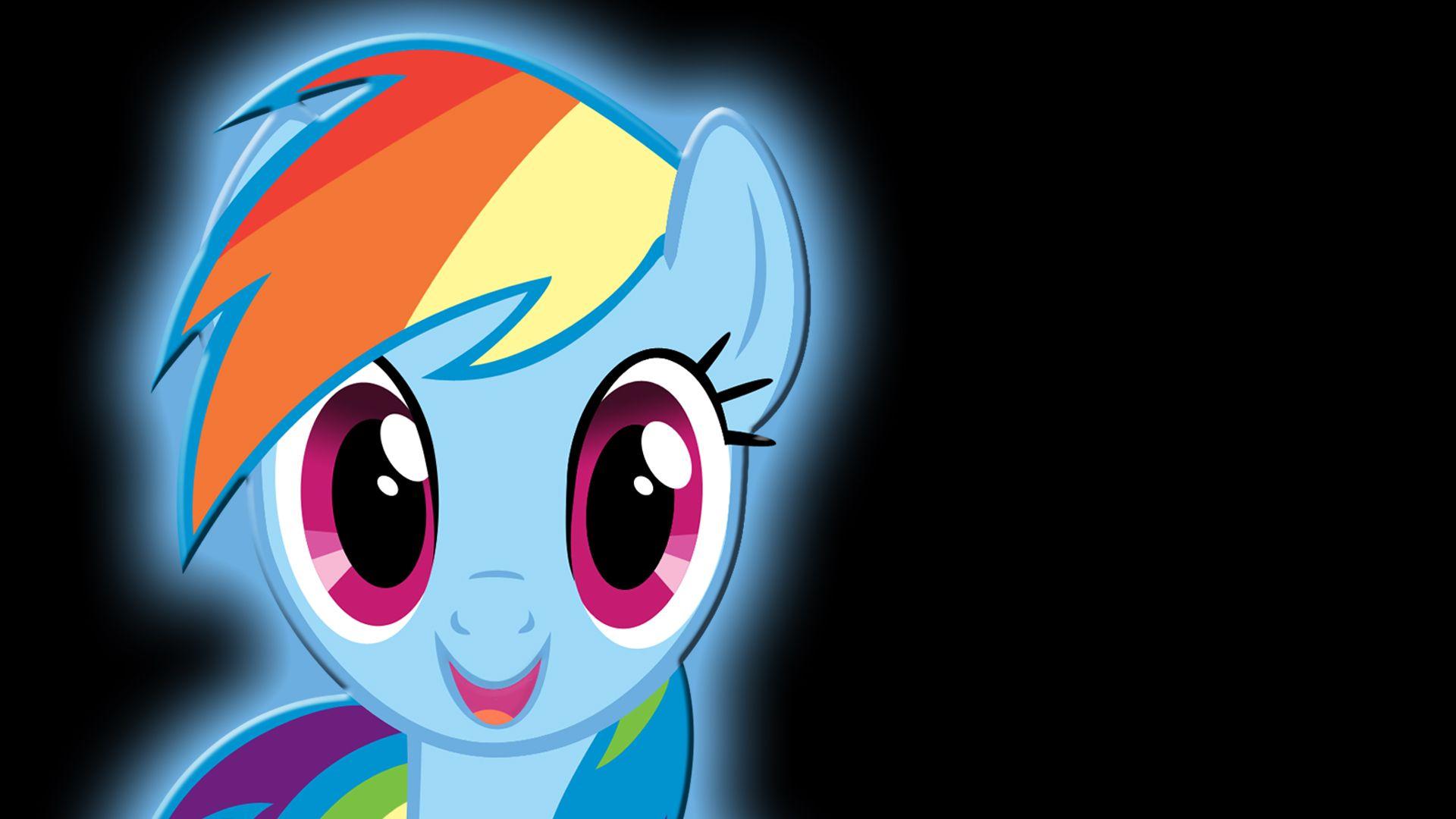 Rainbow Dash Background Wallpaper Walldevil Best Free Hd