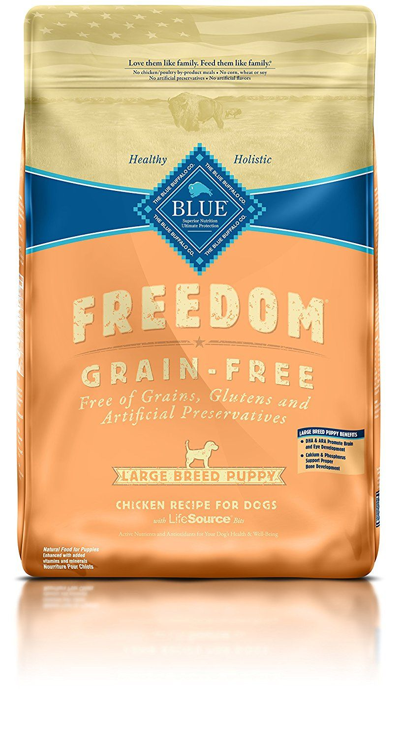 Blue freedom grain free puppy dry dog food for more