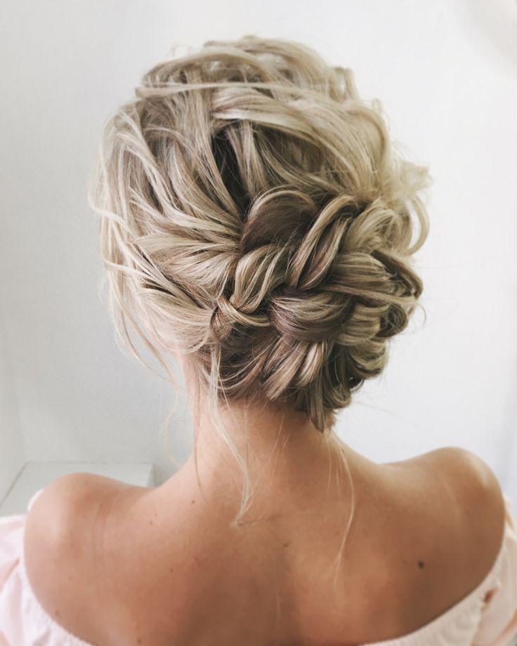 Lange Hochzeitsfrisuren und Hochsteckfrisuren von lenabogucharskaya #hochzeiten #frisuren # ... - Emily blog