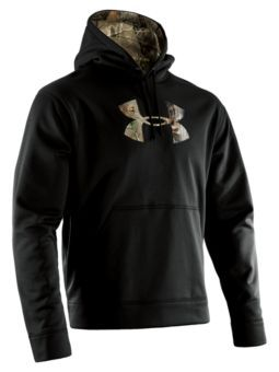3b41cb9f59804 Under Armour® Tackle Twill Hoodies for Men - Long Sleeve | Bass Pro Shops  Black/Realtree AP and size: XL