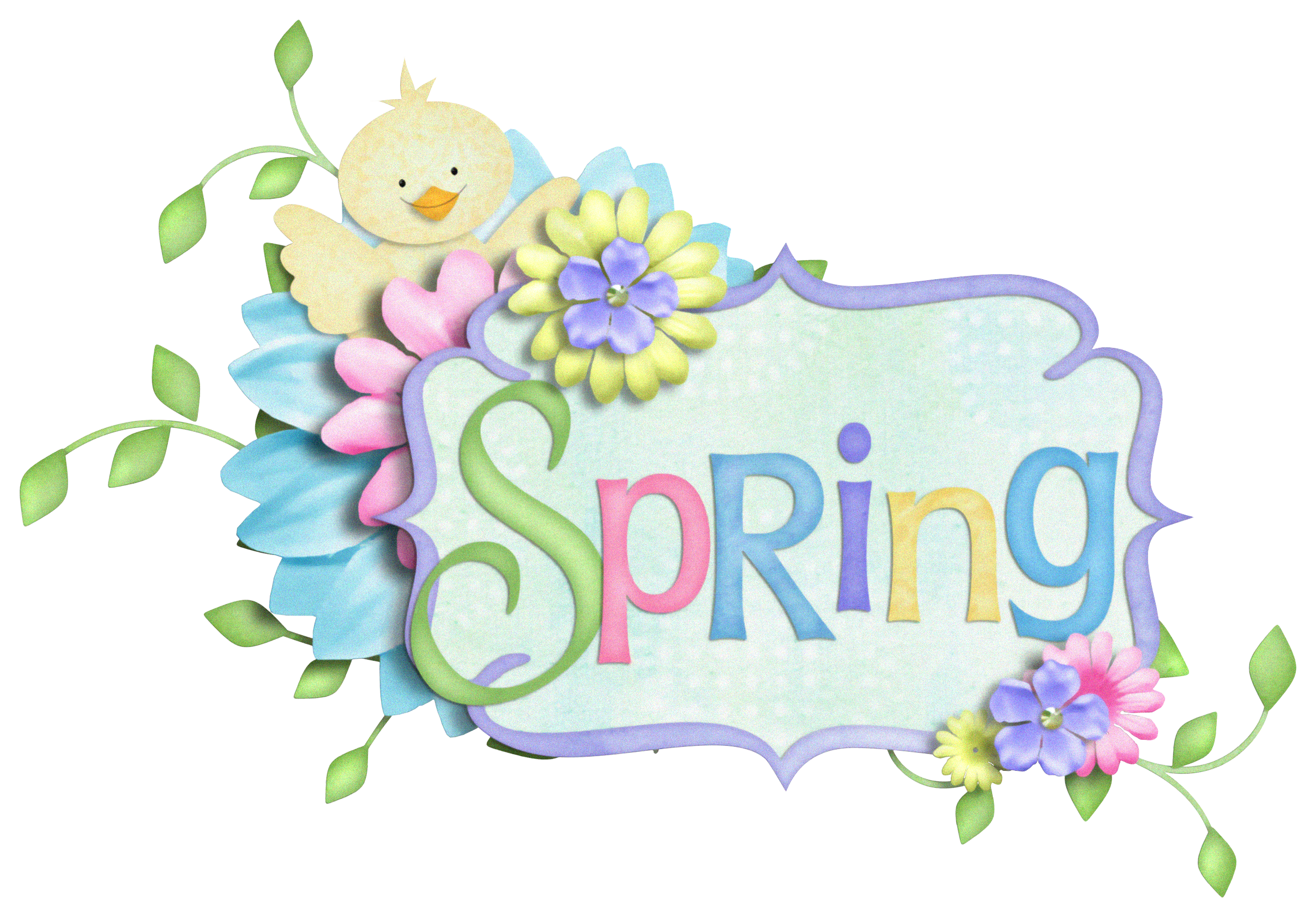 Spring Decor Png Clipart Picture Easter Frame Spring Clipart Clip Art