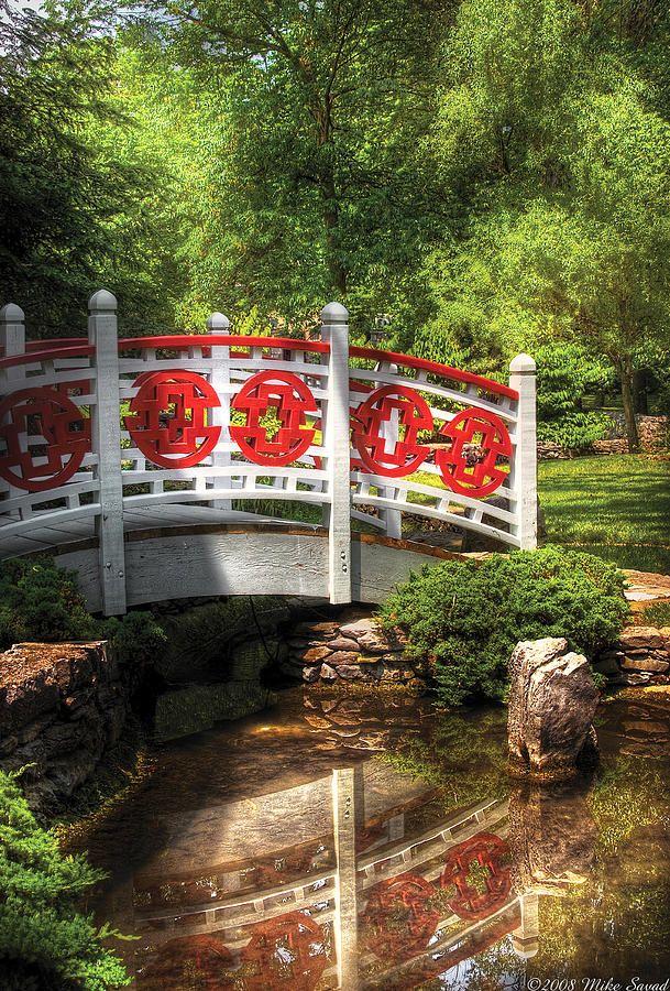 Orient - Bridge - Tranquility Photograph board-less Pinterest - chinesischer garten brucke