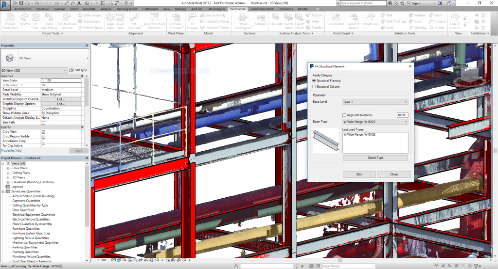 For the First Time, New LaserScanning Software Release