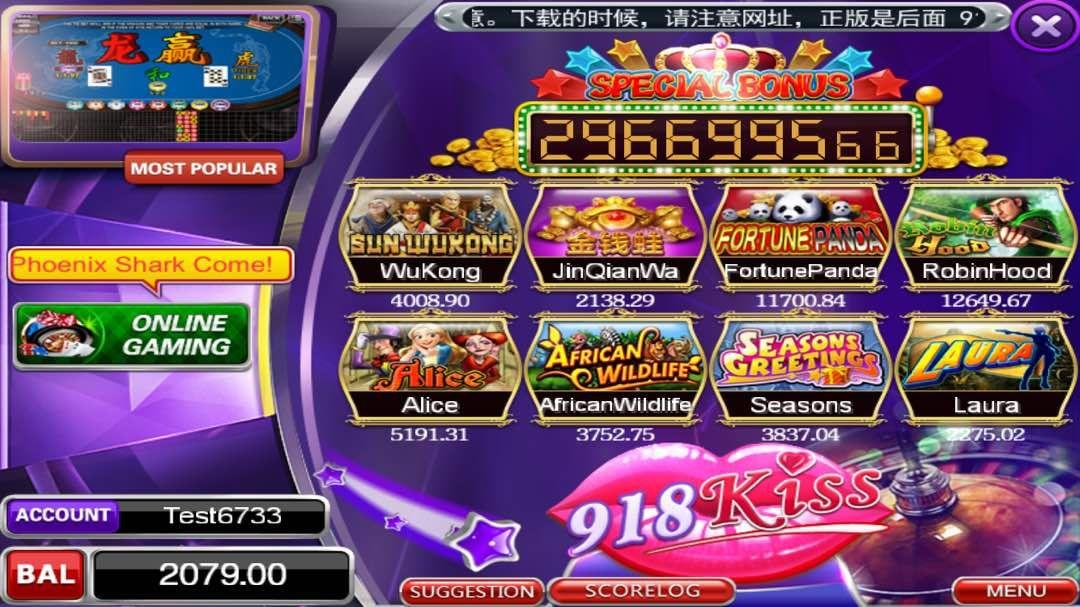 Slot Games List