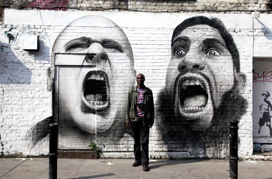 Fotograf Stefan Wermuth: Was Londoner über Olympia denken