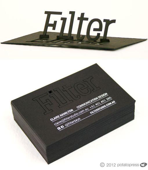 Amazing laser cut pop up business card design identity amazing laser cut pop up business card reheart Choice Image