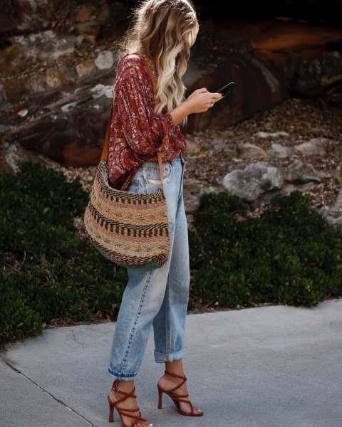 Mode : comment porter la tendance boho chic, 30+ outfits
