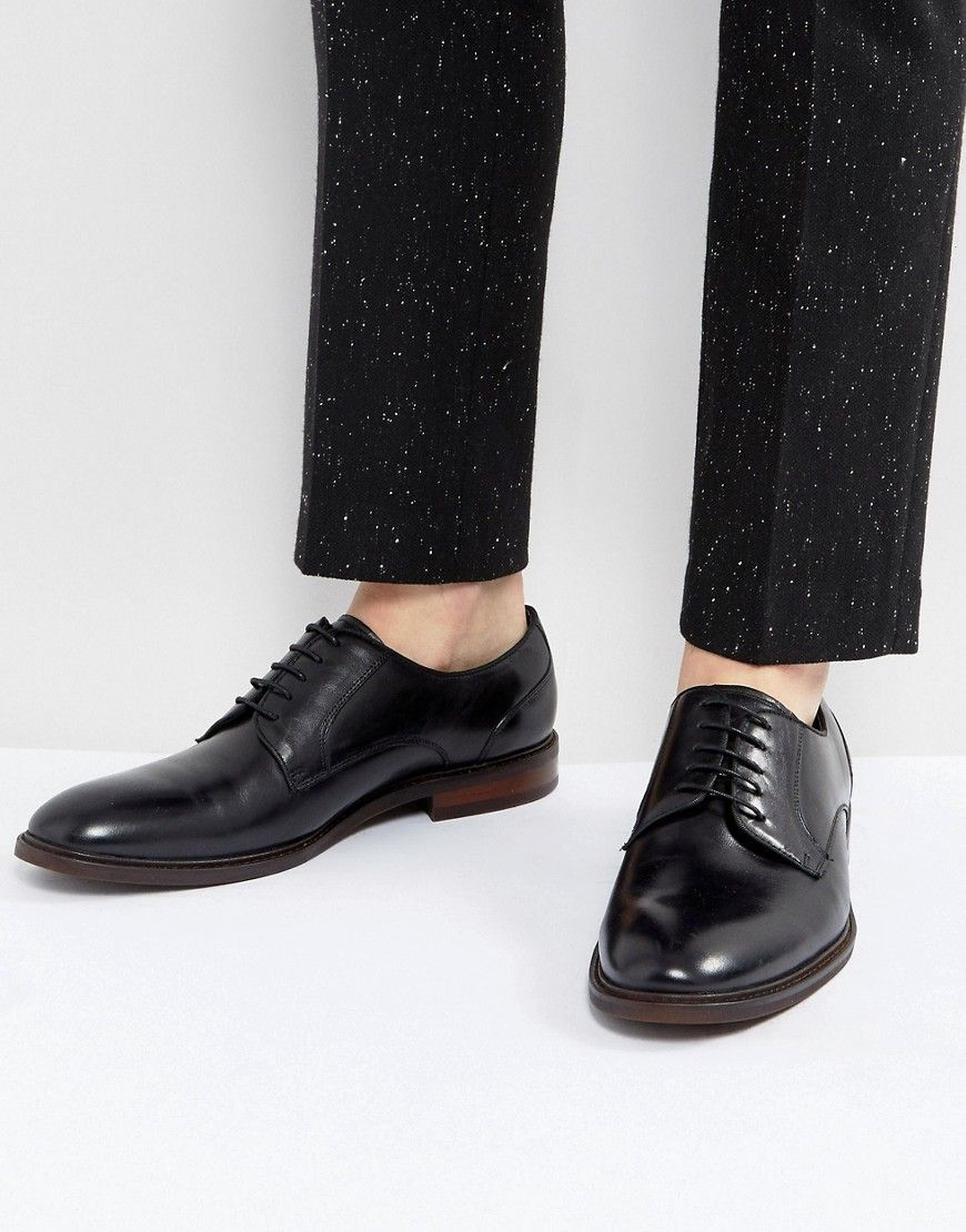 Steve Madden Bozlee Leather Shoes In