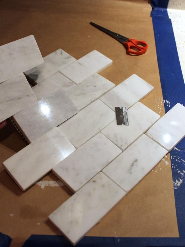 How To Install A Marble Tile Backsplash Kentwood Circle