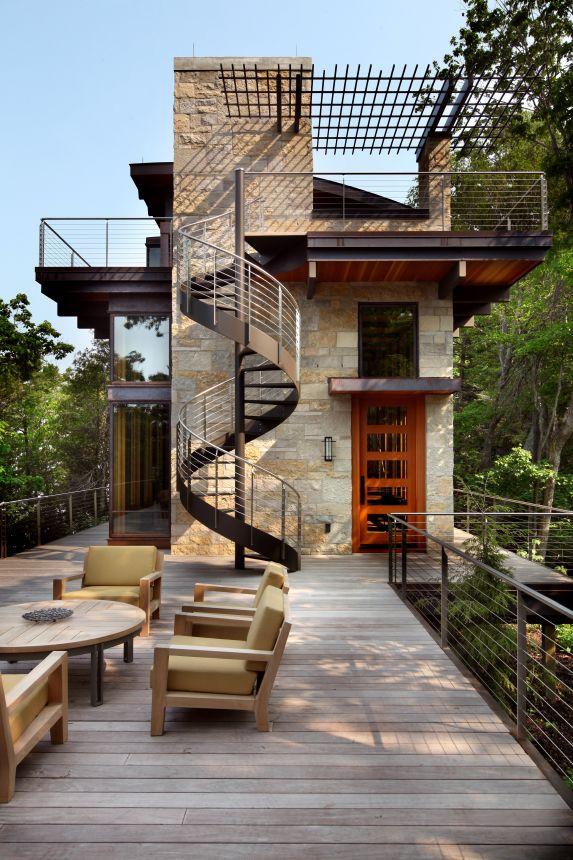 Best Scott Christopher Homes Created This Modern Spiral 400 x 300