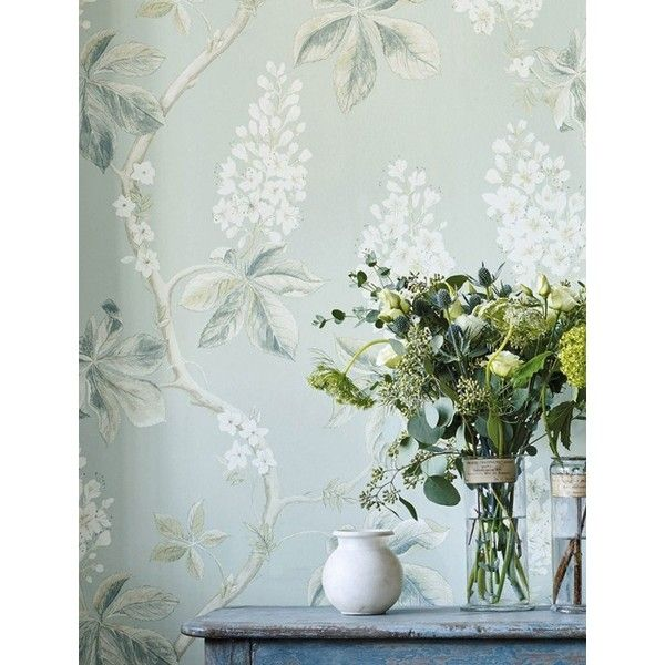 Hera ($95) ❤ Liked On Polyvore Featuring Home, Home Decor, Wallpaper,