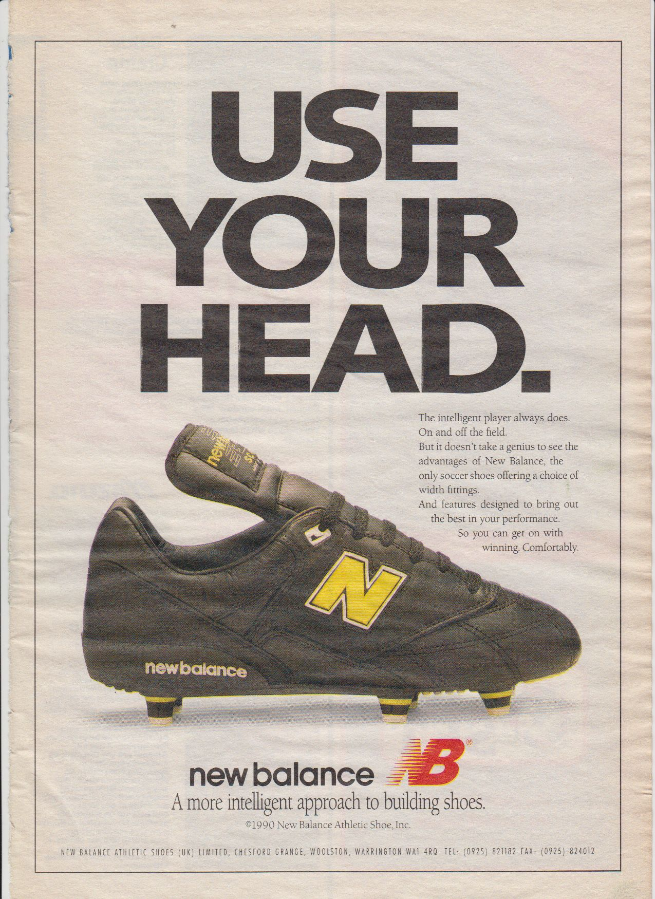 New Balance Soccer 1990 New Balance New Balance Trainers Football Boots