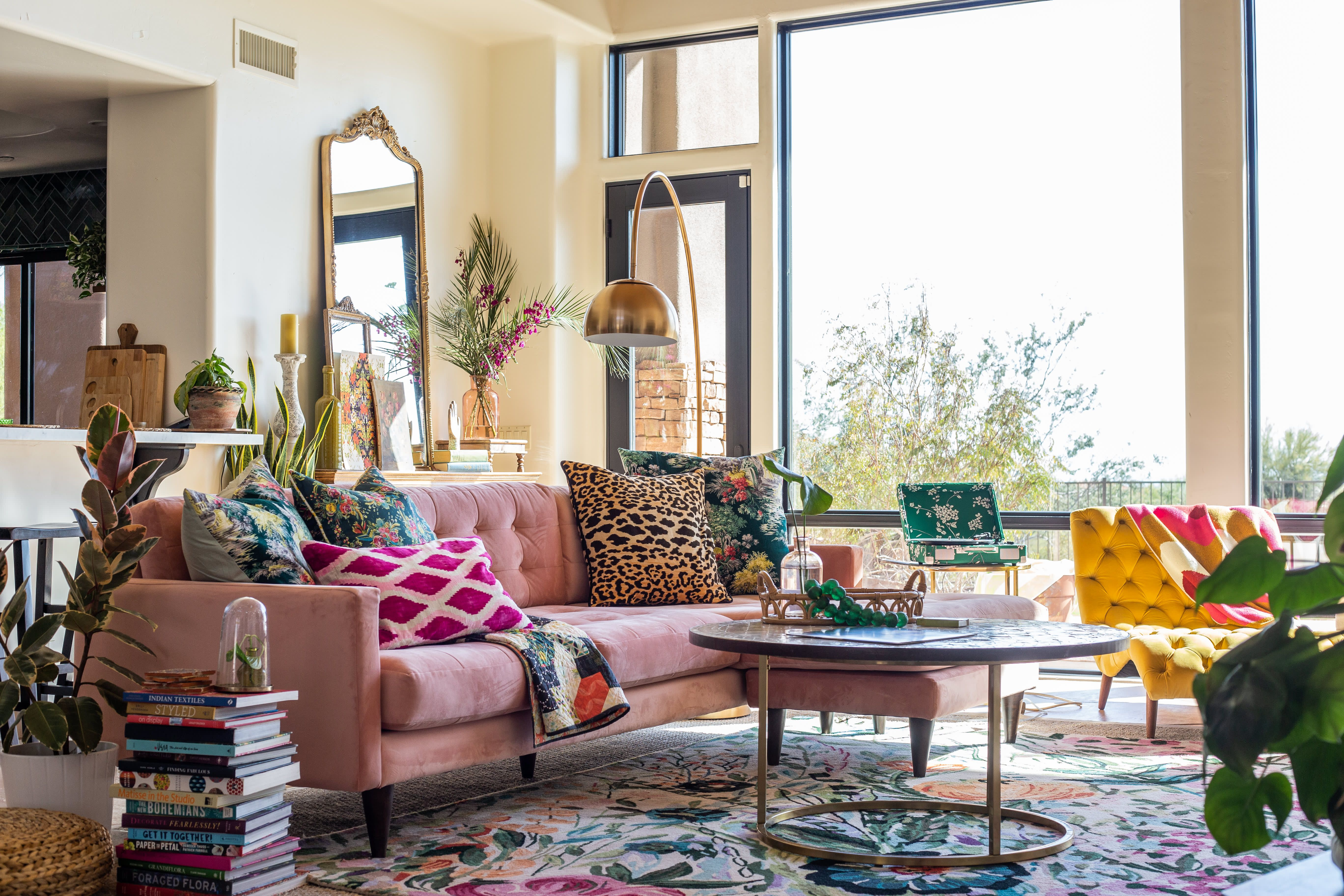 This Arizona Home Is Filled With Utterly Fantastic Hand Painted