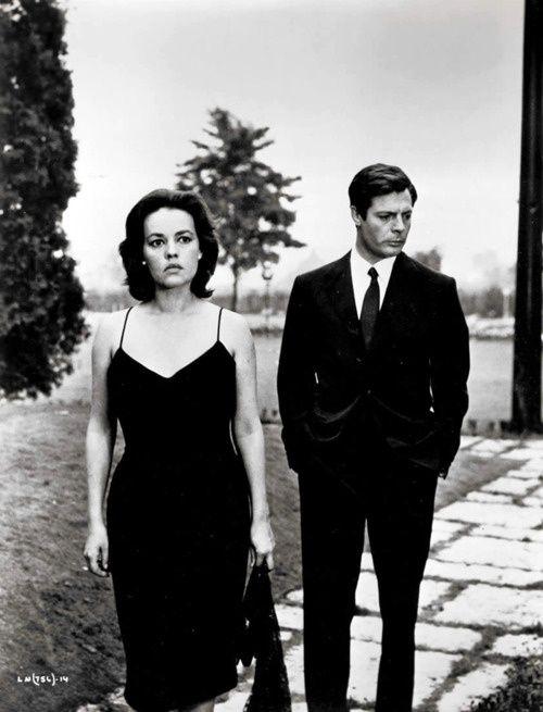 La Notte, Jeanne Moreau and MM, 1961 (Antonioni)