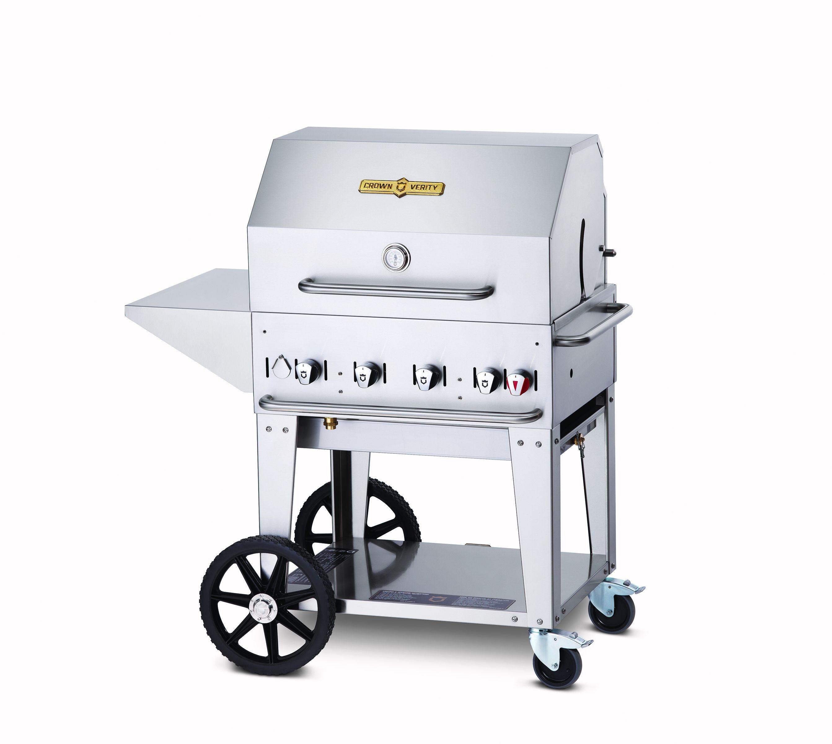 Crown Verity Gas Barbecue 4 Burners Cvmcb30  Gh570