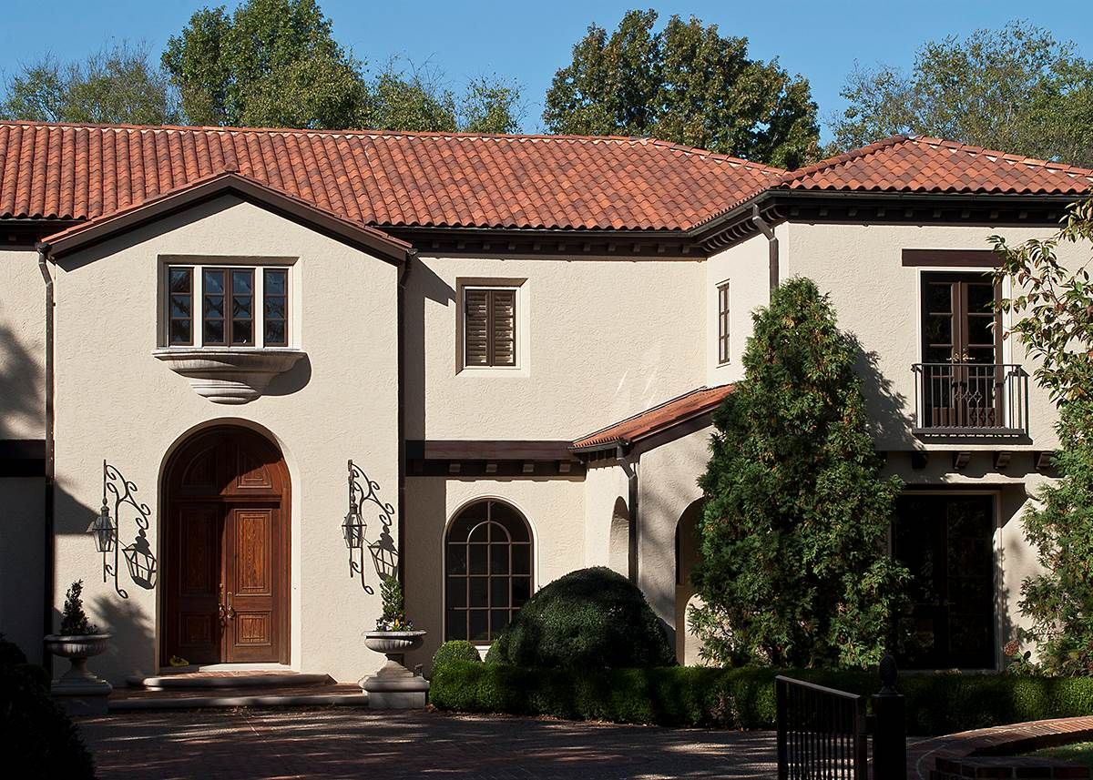 Best 13 1 4 Spanish With Dark Terra Cotta House Paint 400 x 300