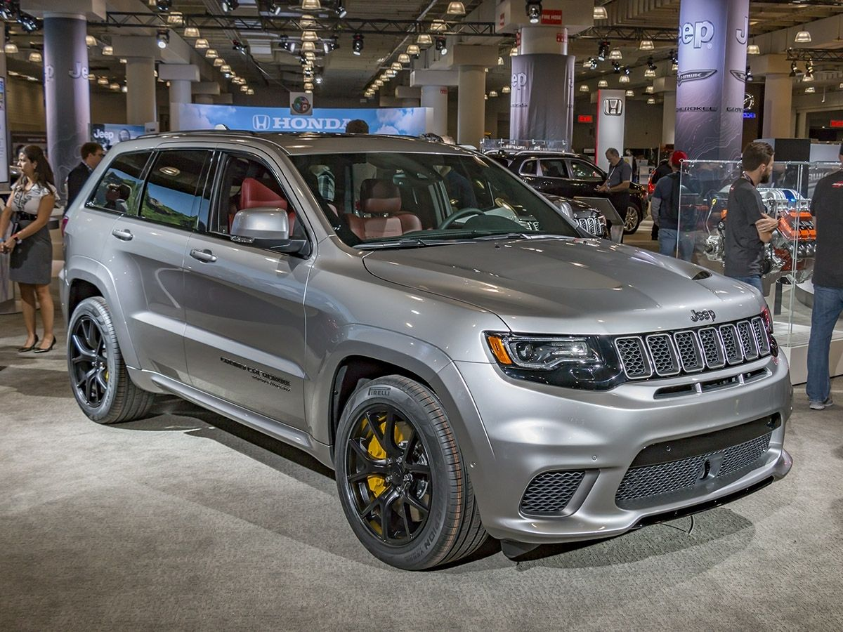 2019 Jeep Grand Cherokee Trackhawk First Drive Jeep Grand Cherokee Jeep Grand Jeep Grand Cherokee Srt