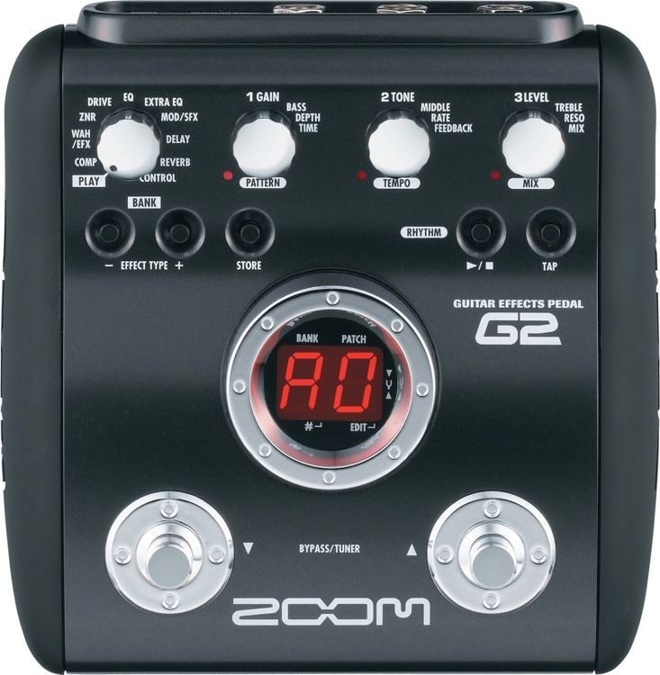 Zoom G1x Four Multi Effects Processor With Expression Pedal Guitar Effects Pedals Effects Pedals Guitar Effects