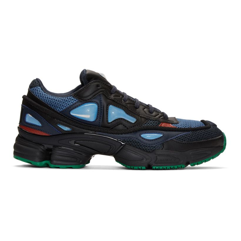 best sneakers 3595e dca67 Raf Simons - Navy adidas Originals Edition Ozweego 2 Sneakers