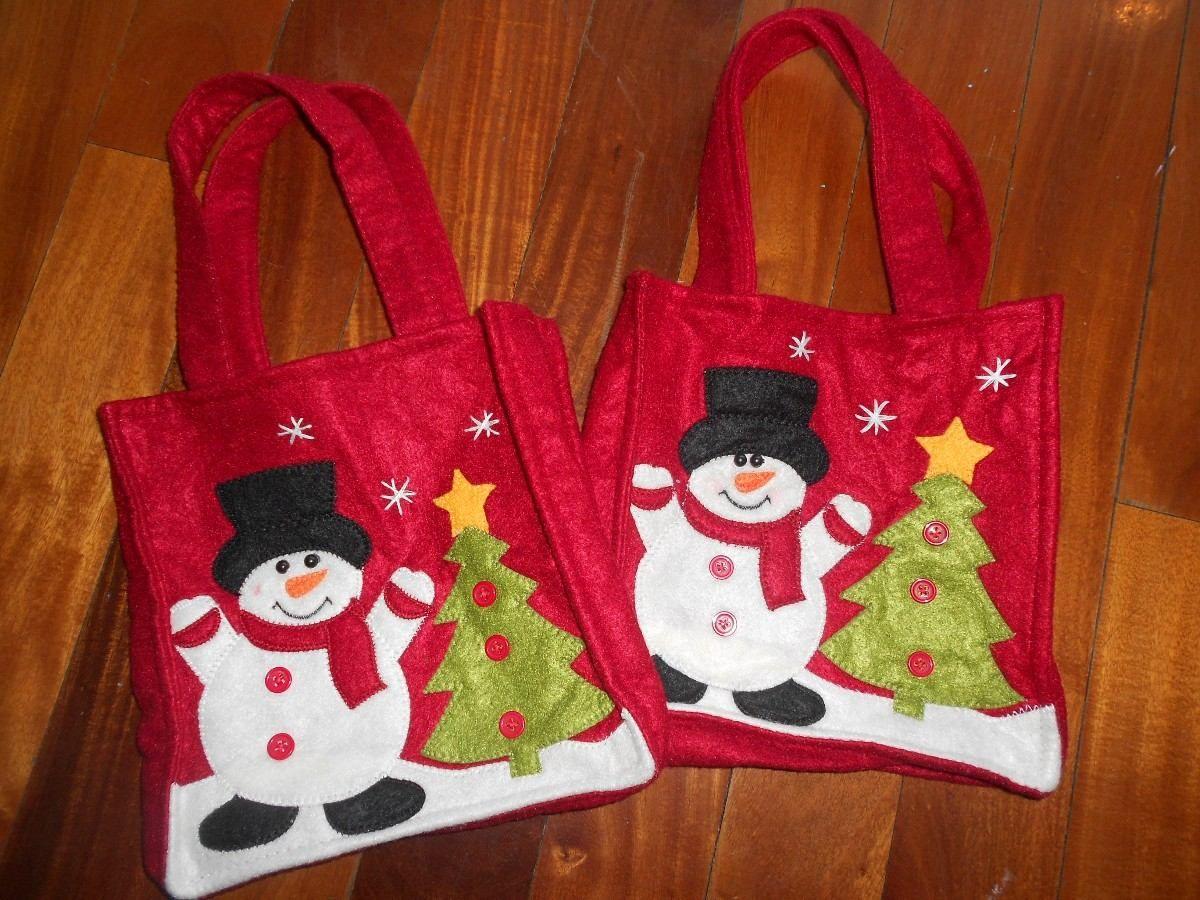 bolsas navideas para deco o poner los regalitos unicas