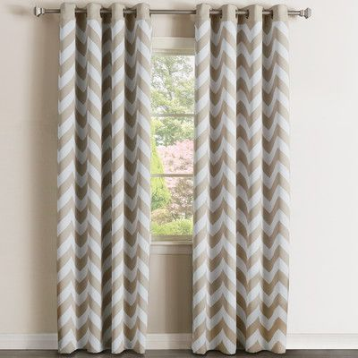 Solid Blackout Thermal Grommet Curtain Panels Set Of 2 Panel