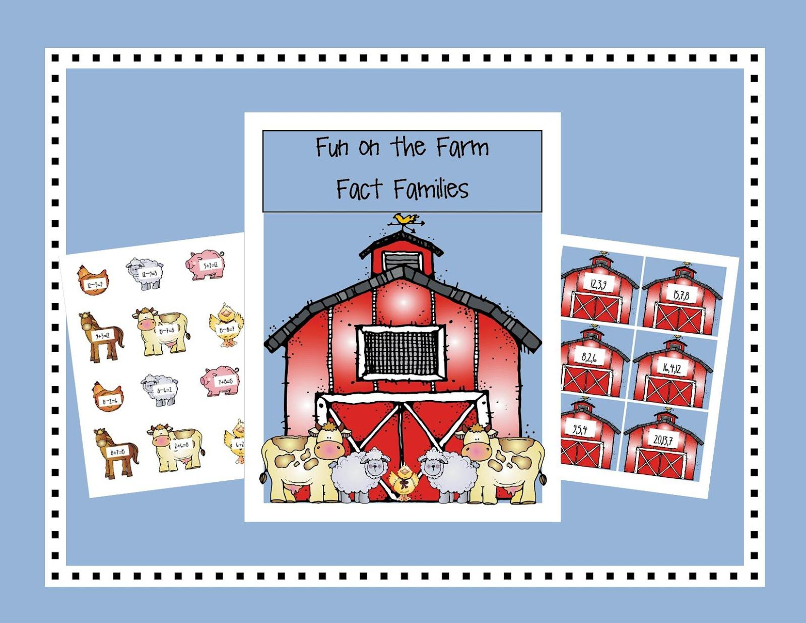 Second Grade Smartypants Fact Families