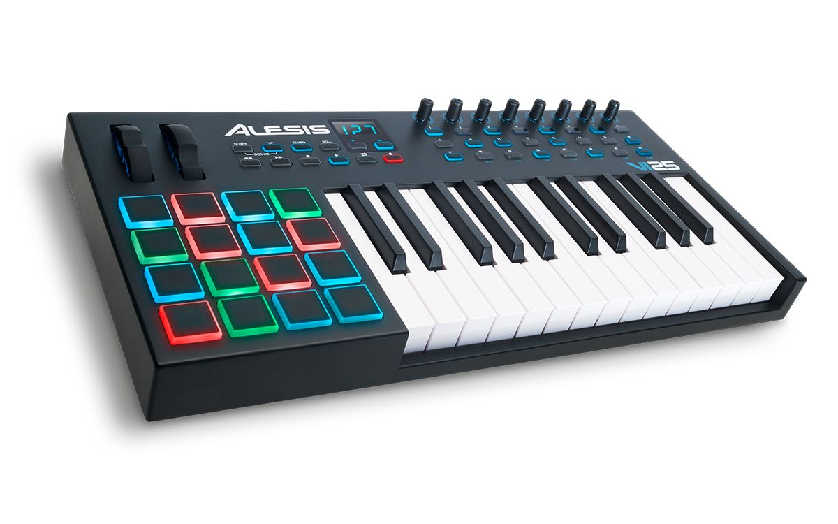Alesis VI25 | Noise ex Machina | Midi keyboard, Keyboard, Music