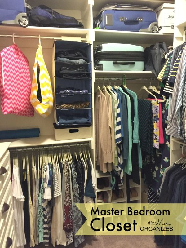 Master Bedroom Closet Tour
