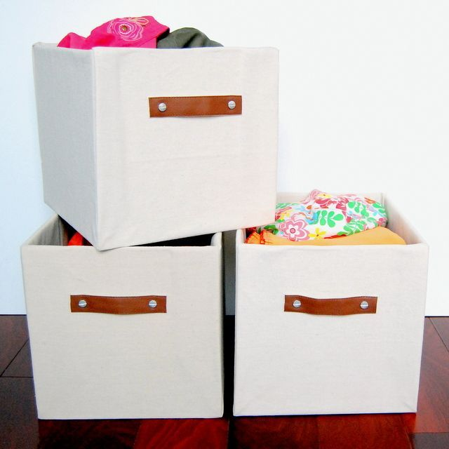 Diy Storage Container Ideas Part - 24: Custom Sized Storage Bins - Boxes - Http://northstory.ca