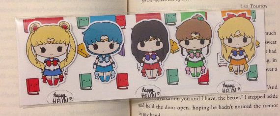 Magnetic Bookmarks Sailors by HappyHelloCo on Etsy