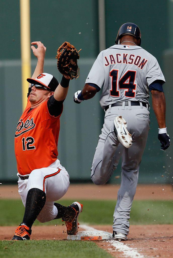 Austin Jackson Photos Photos Detroit Tigers V Baltimore Orioles Baltimore Orioles Orioles Detroit Tigers
