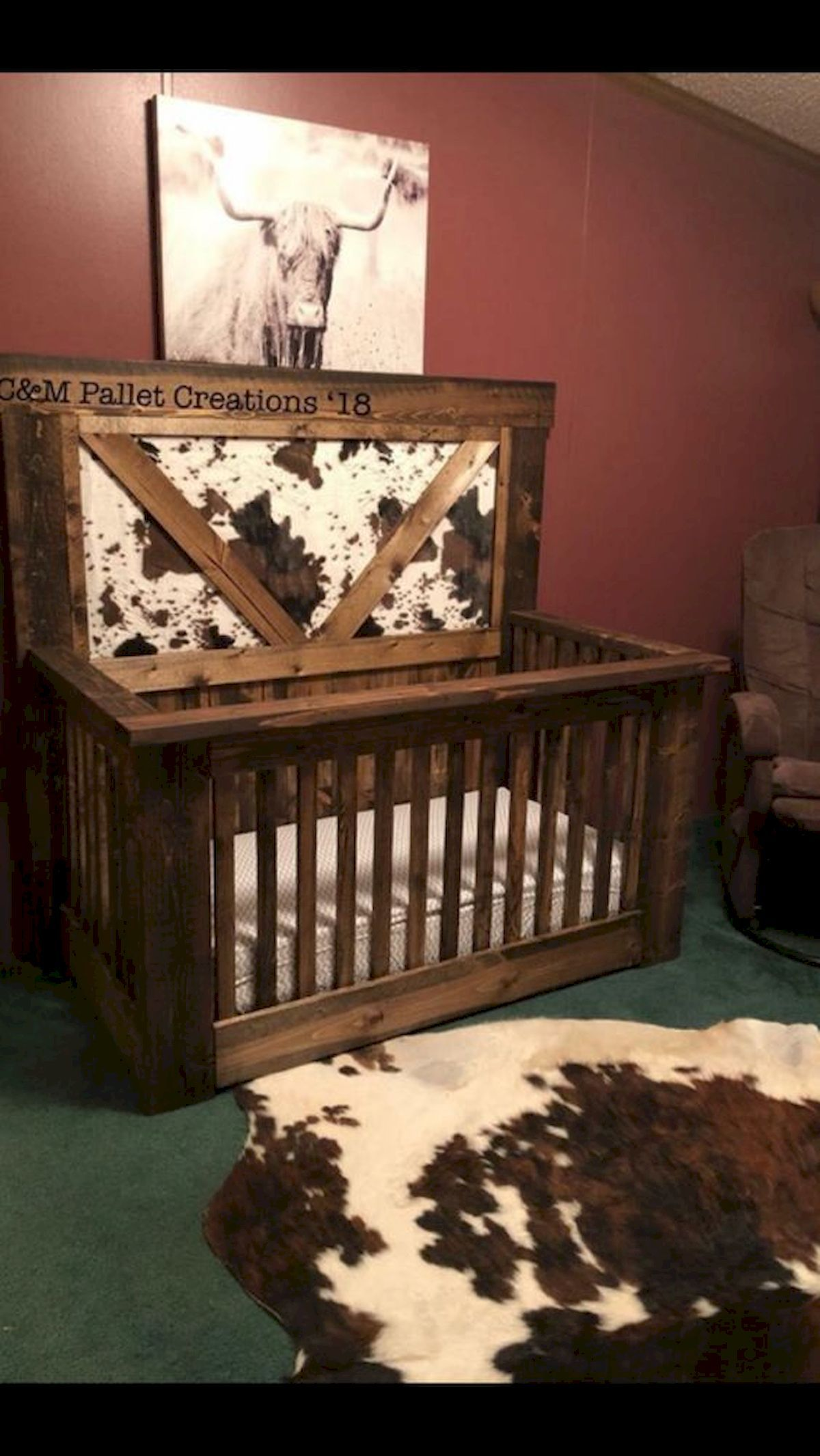 Rustic Nursery Room