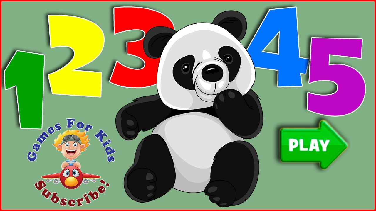 Panda Preschool Adventure | Learn Colors & Count to 10 | Baby Games ...