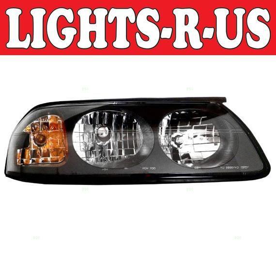 Lights R Us Chevrolet Impala Headlight Rh Right Passenger 2000 2001 2002 2003 2004 00 01 02 03 04 2000 Thru 05 Of 2004 Chevrolet Impala Lamp Parts Lights