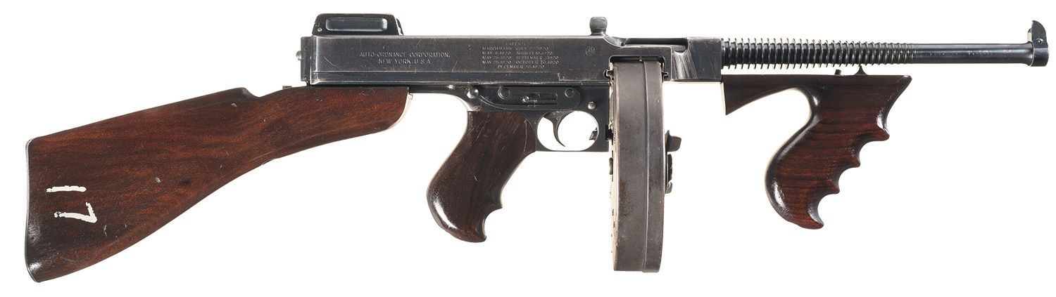 b2cd972f8a35a The Rock Island Auction Blog  Did This 1928AC Thompson belong to John  Dillinger